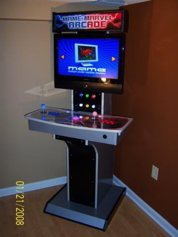arcade coffee table plan